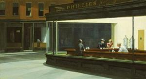 NIGHTHAWKS By Edward Hopper Tops The List Of American Artworks Selected For The Largest Outdoor Art Show