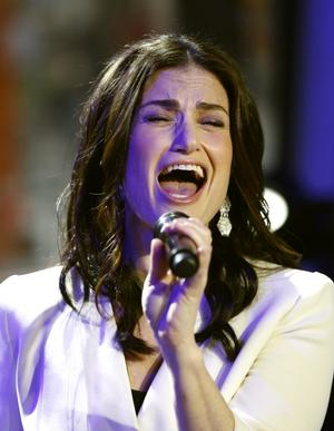 Idina Menzel Duets with 'Rent' Castmates, Katie Couric & More at Broader Way Fundraiser