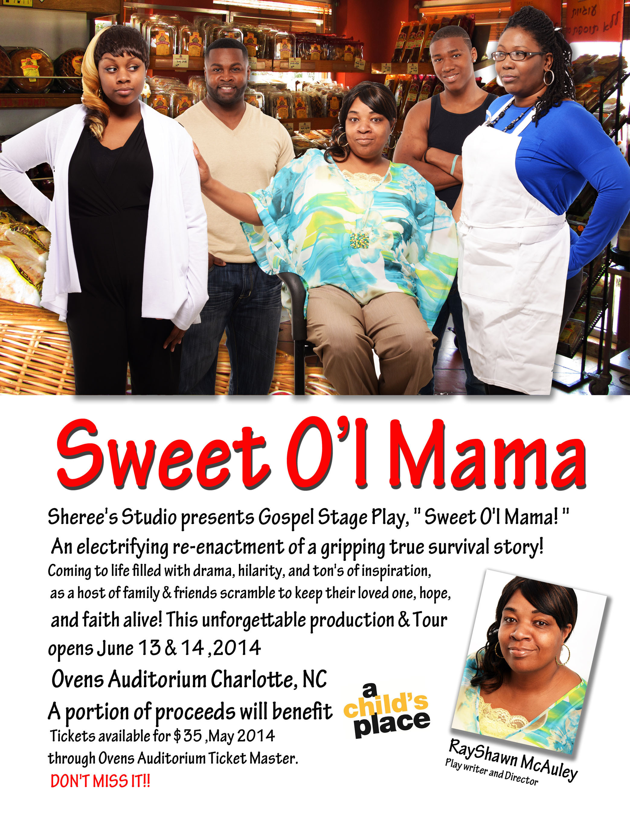 SWEET O'L MAMA Memoir is Released