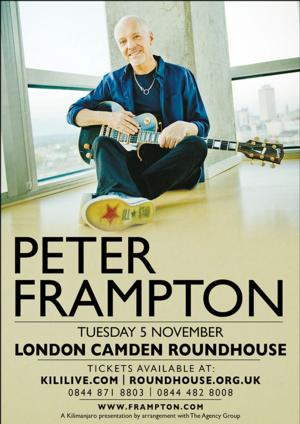 Peter Frampton to Play Nov 5 Concert at London Camden Roundhouse