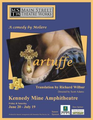 Main Street Theatre Works Recasts Title Role in TARTUFFE