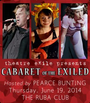 Theatre Exile's Annual Cabaret Fundraiser Returns Tonight