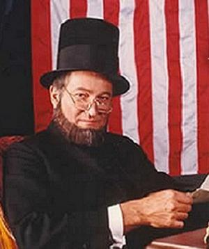 Meet the 'Real Abraham Lincoln' in Person on February 9 in Sandy Springs