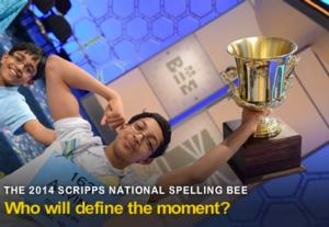 ESPN and ESPN3 to Present 2014 Scripps National Spelling Bee Finals