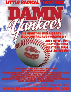 Little Radical Theatrics to Present DAMN YANKEES, 7/18-20