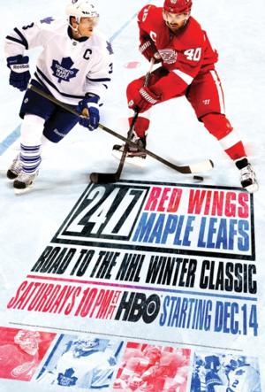 HBO Sports to Debut 24/7 RED WINGS/MAPLE LEAFS: ROAD TO THE NHL WINTER CLASSIC, 12/14