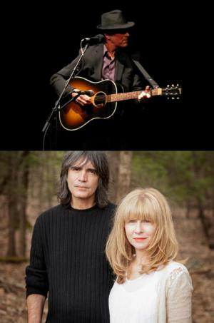 Eric Andersen, Larry Campbell & Teresa Williams with Byron Isaacs Coming to Bridge Street Live, 6/13