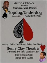 Actor's Choice to Present Susan-Lori Parks' TOPDOG/UNDERDOG, 1/10-20