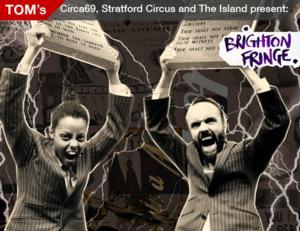TOM, Circa69, Stratford Circus and The Island to Present THE NEW TEN COMMANDMENTS at Brighton Fringe 2014, May 4-June 1