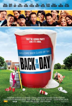 Michael Rosenbaum's Comedy BACK IN THE DAY Hits Theaters Today
