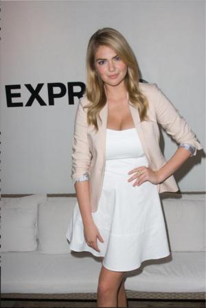 Kate Upton to Debut First EXPRESS Campaign in Times Square