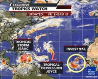 The Weather Channel to Cover Tropical Storm Isaac Live From Cuba