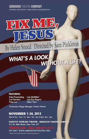 Sam Pinkleton to Direct World Premiere of FIX ME, JESUS at Abingdon, Beg. 11/1