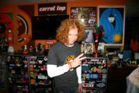 Carrot Top Joins Hard Rock International to Support Imagine There's No Hunger Campaign