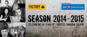 THE ART OF BUILDING A BUNKER, THE DAISY THEATRE and More Set for Factory Theatre's 45th Season