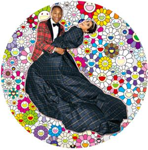 Pharrell's New Exhibition, GIRL, Opens at Galerie Perrotin in Paris