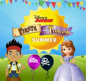 Disney Jr's PIRATE AND PRINCESS SUMMER Returns 6/27