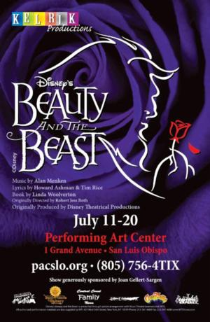 Disney's BEAUTY AND THE BEAST Coming to PAC's Spanos Theater, 7/11-20