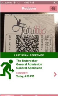 TutuTix Launches iPhone Ticket Scanner App for Dance Studios
