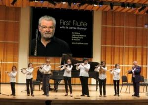 Sir James Galway's FIRST FLUTE Now Available
