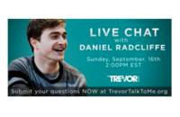 Daniel Radcliffe to Talk Live about Suicide Prevention on Google+ Hangout for Trevor Project 9/16