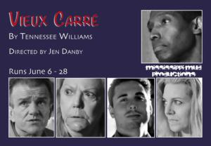 Mississippi Mud Productions Presents and This American Blonde Actress Announce Cast of Tennessee Williams' VIEUX CARRE