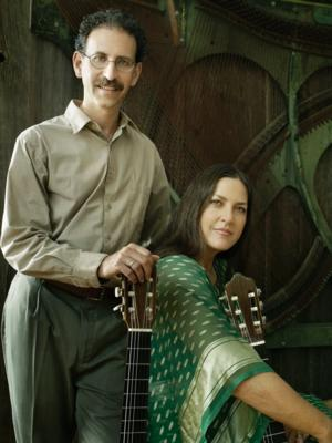 Newman & Oltman Guitar Duo Performs at RARITAN RIVER MUSIC FESTIVAL Tonight