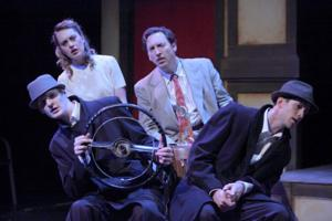 BWW Reviews: Yellow Tree Theatre's Zany British Comedy THE 39 STEPS is Good Old-Fashioned Theatrical Entertainment
