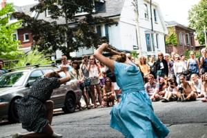 Peter Chin, Lauren Cook, Allen Kaeja and Louis Laberge-Côté Set for Kaeja d'Dance's PORCH VIEW DANCES, 7/16-20