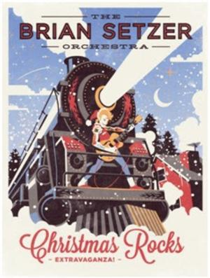 THE BRIAN SETZER ORCHESTRA Announces 2014 'Christmas Rocks Tour'