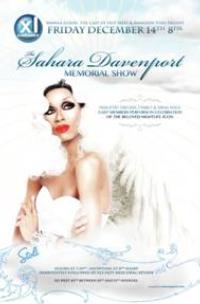 Sahara Davenport Memorial Show Set for XL Nightclub, Dec 14