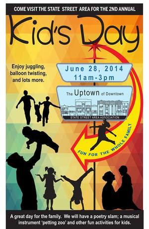 The Ann Arbor Symphony Orchestra Presents Kids Day with the State Street Area Association, 6/28
