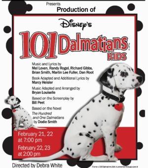 Prescott Center for the Arts Presents DISNEY'S 101 DALMATIONS, 2/21-23