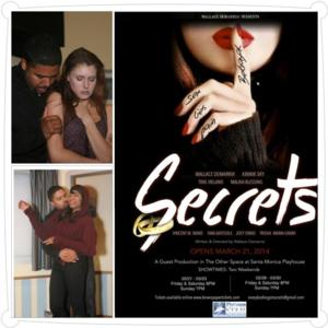BWW Reviews: SECRETS Attempts to Present a Raw Graphic Portrait of a Failing Marriage