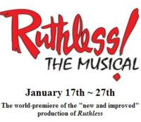 The Ridgefield Theater Barn Presents RUTHLESS! The Musical, 1/17-1/27