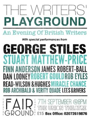 Lauren Samuels and More To Sing At THE WRITERS' PLAYGROUND At The Union Theatre, September 7