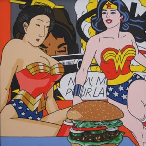 Flomenhaft Gallery Opens Roger Shimomura's GREAT AMERICAN MUSE Today