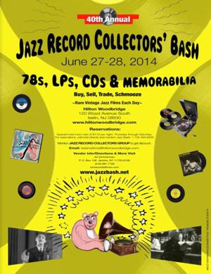 40th Annual Jazz Record Collectors' Bash Set for 6/27-28