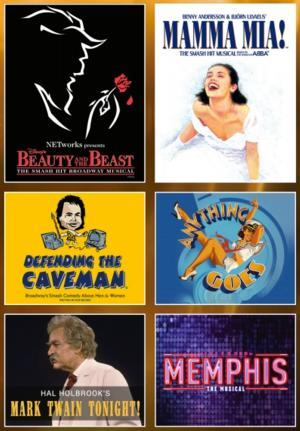 DEFENDING THE CAVEMAN, MEMPHIS and More Set for Broadway in Riverside's 2014-15 Season
