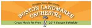 Boston Landmarks Orchestra's Free Summer Wednesday Concert Programs to Run 7/16-8/27