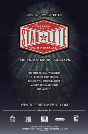 Garden Theatre to Host StarLite Film Festival, 1/23-26