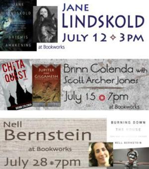 This Week at Bookworks Includes Jane Lindskold, Brinn Colenda and More
