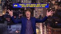 Rock Legend Mick Jagger to Present 'Top 10' on Tonight's LATE SHOW WITH DAVID LETTERMAN