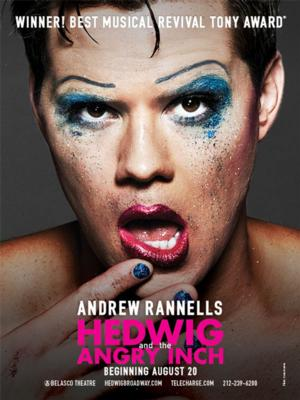 Andrew Rannells Dons HEDWIG's Stilettos on Broadway Tonight