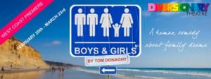 Diversionary Theatre to Present BOYS & GIRLS, 2/20-3/23