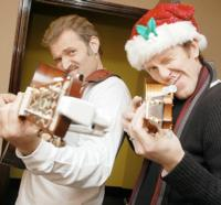 Marc Kudisch and Jeffry Denman Record 'Happy Merry Hanu-Mas' Album