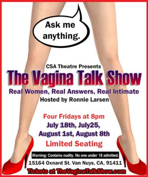 THE VAGINA TALK SHOW to Play CSA Theatre, Begin. 7/18