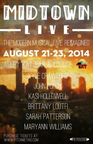 Songs from NEXT TO NORMAL, SPRING AWAKENING & More Set for PMT Productions' MIDTOWN LIVE Concert, 8/21-23