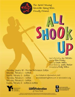 Riverdale Rising Stars to Present ALL SHOOK UP, 1/30-2/9