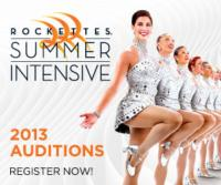 Madison Square Garden Entertainment Announces 2013 Audition Cities and Dates for the ROCKETTES SUMMER INTENSIVES